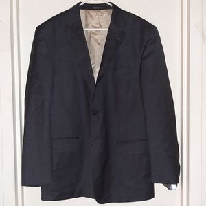 Nautica Two Button Blazer Gray Men's 48L EUC
